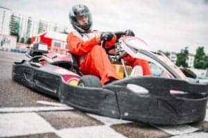 gokart race driver