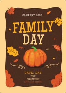 Family Day Organiser 42