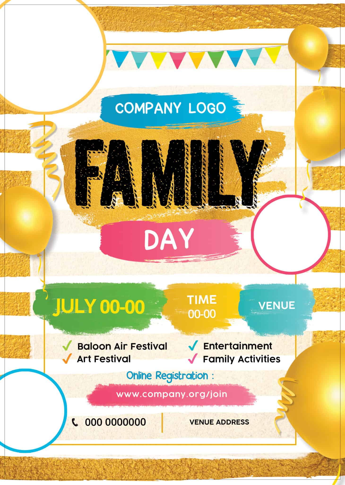 Our designers have designed more family day posters than we can use so here they are for you if you see any poster design that you like and want an