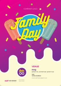 Family Day Organiser 46