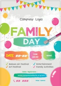 Family Day Organiser 44