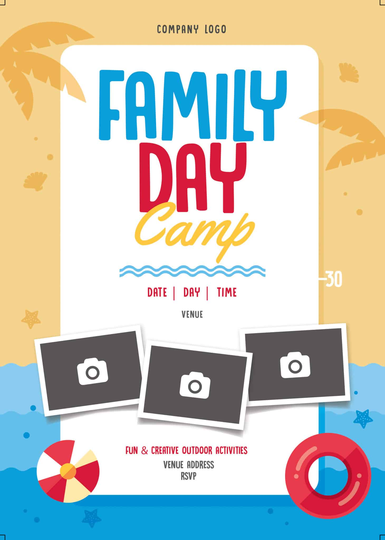 Corporate family day activities