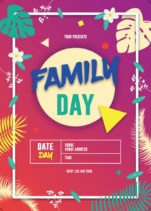 Family Day Organiser 41