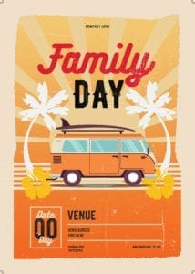 Family Day Organiser 40