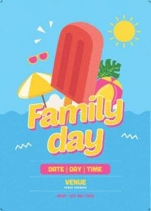 Family Day Organiser 33