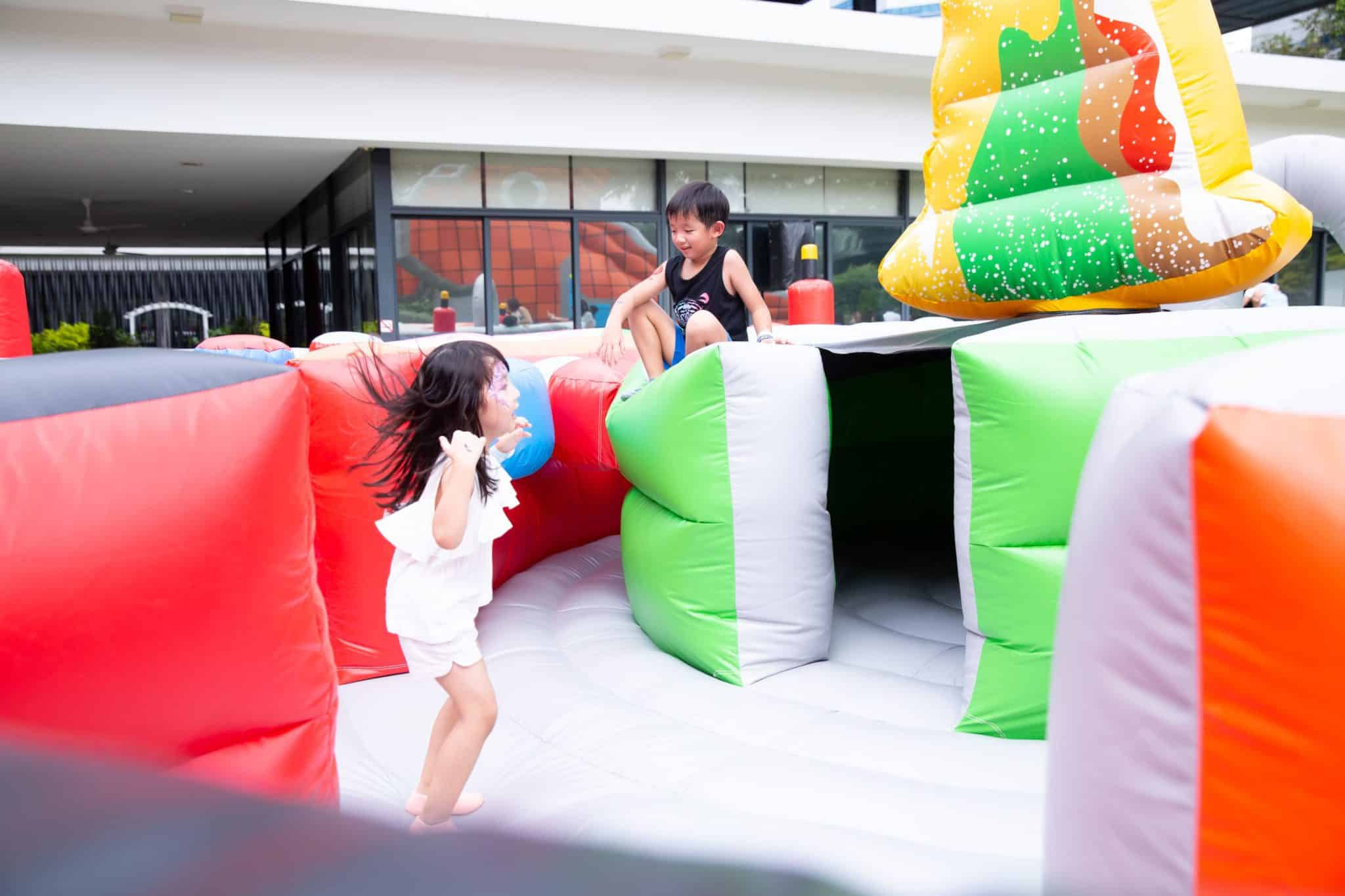 Giant Inflatable Bouncy Castle Rentals Singapore 4