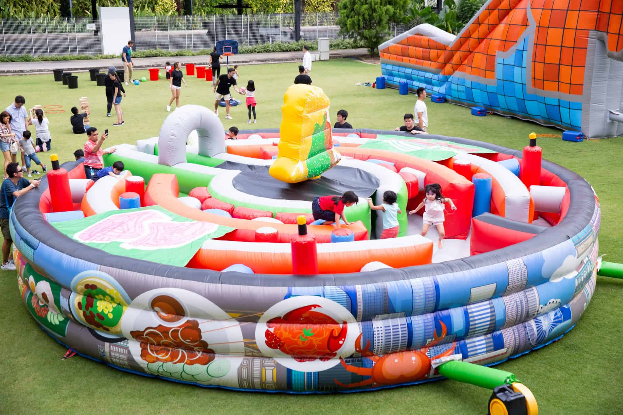 Giant Inflatable Bouncy Castle Rentals Singapore 3