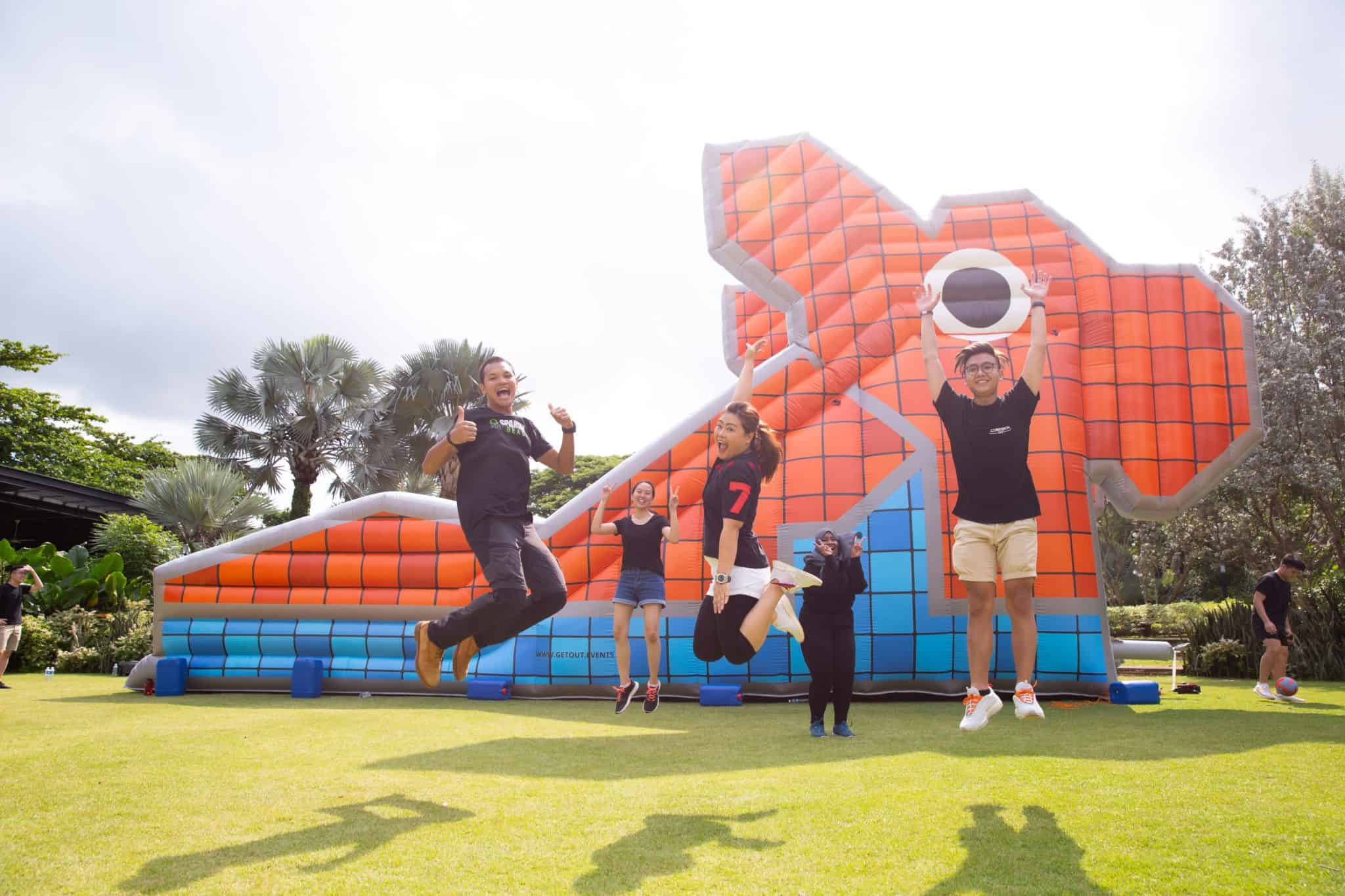 Giant Inflatable Bouncy Castle Rentals Singapore 2