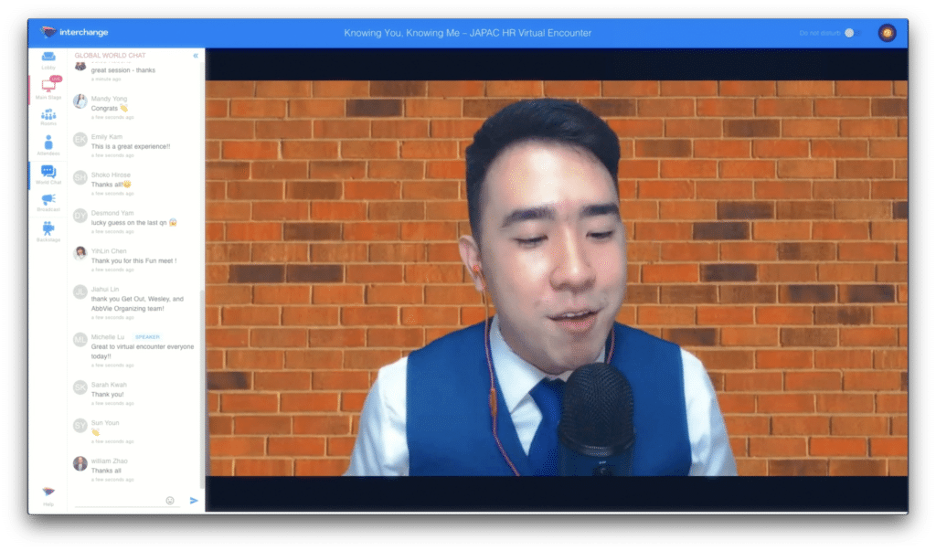 Virtual Emcee Singapore
