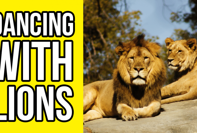 dancing with lions - YouTube Thumbnail